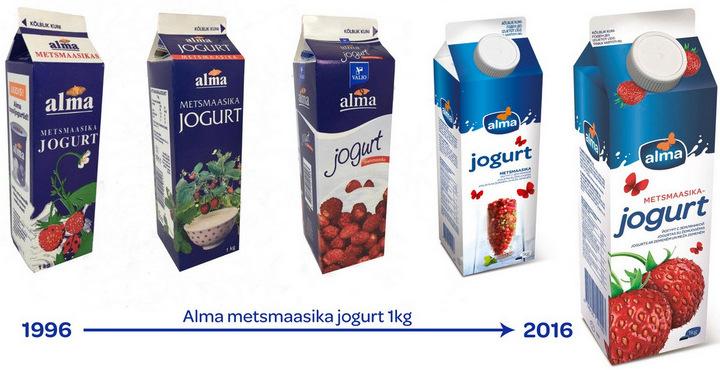 pakend jogurt